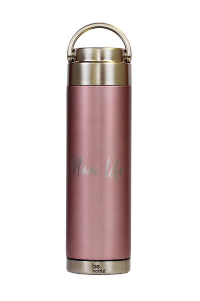 Picture of Rose Gold Pink Mom Life 18 oz.