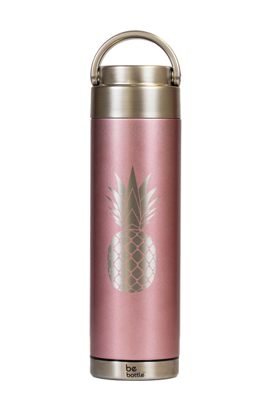 Picture of New! Rose Gold Pink Pineapple