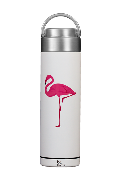 Picture of New! Just White Flamingo